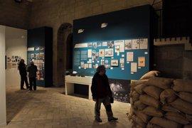 La exposición de Orwell en Huesca cierra sus puertas tras registrar 18.000 visitantes