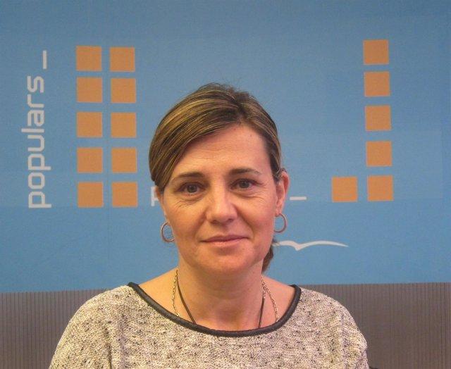 La candidata del PP por Valencia al Congreso, Elena Bastidas.