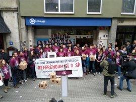 Detienen a un militante de Arran por la protesta en la sede del PP catalán en marzo