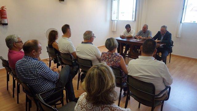 Constitución junta local El PI Sant Lluís (Menorca)