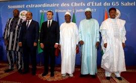 Macron afirma que Francia centrará todos sus esfuerzos en 'erradicar' a los responsables del secuestro de Malí
