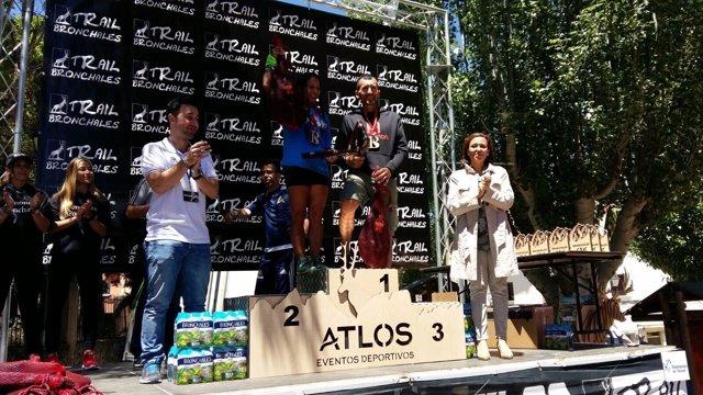 Miguel Ángel Heras y Margarita Paucar, campeones de la 43 K.