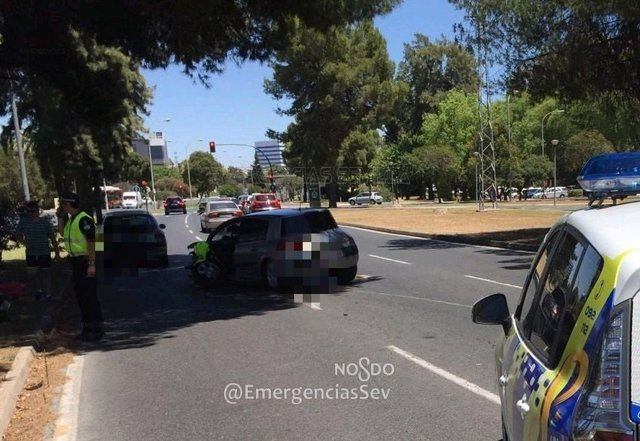 Accidente de tráfico en Sevilla