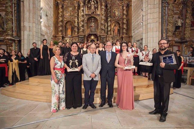 Entrega de premios del Certamen de Canción Marinera