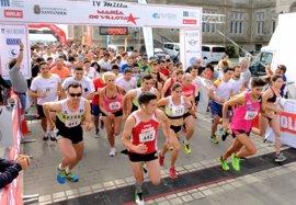 Más de 500 corredores participan en la IV Milla María de Villota