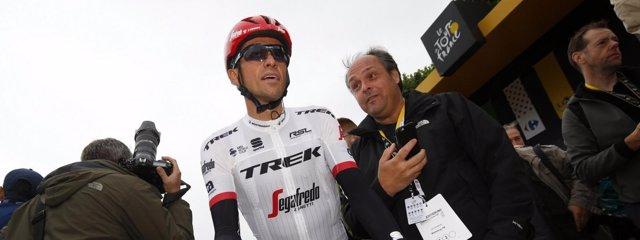 Alberto Contador en el Tour de Francia