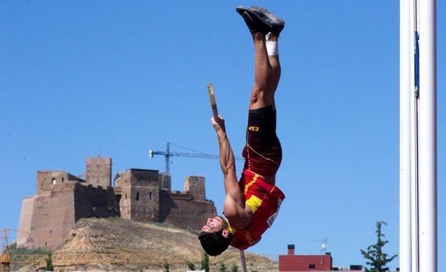 El atleta español Jorge Ureña