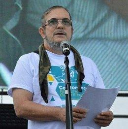El jefe de las FARC, Rodrigo Londoño Echeverri, alias 'Timochenko'