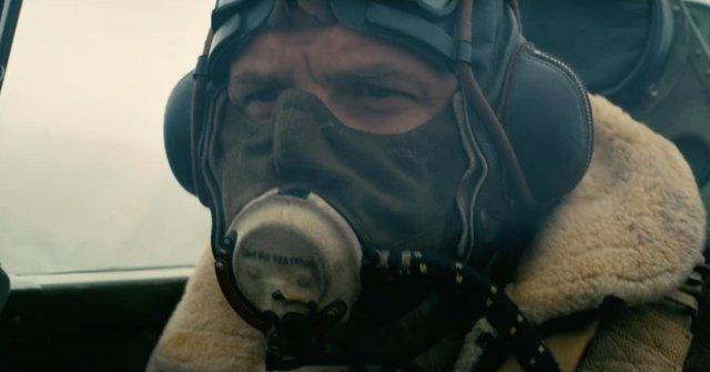 Tom Hardy en el nuevo clip de Dunkerque