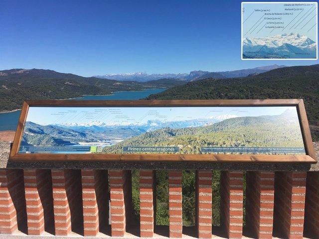 Nuevo mirador del Pirineo en el Santuario de Torreciudad