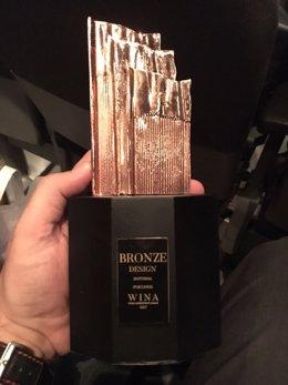 Portavoz recibe el bronce en el festival mundial de agencias independientes
