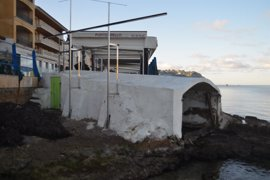 ARCA celebra la retirada de unos hierros en s'Alcova d'en Biel de Son Vic (Andratx)
