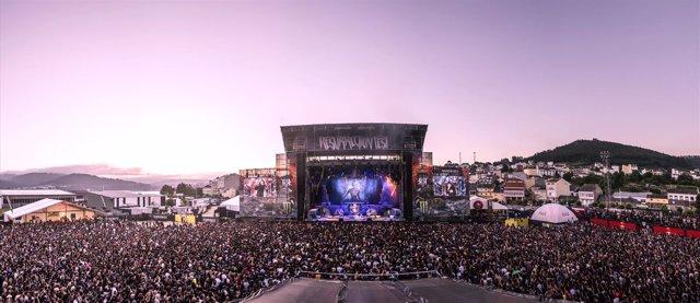 El Resurrection Fest el año pasado, durante el concierto de Iron Maiden