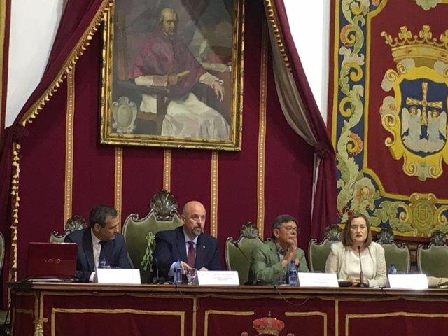 Presentación Simposio sobre 'Los orígues de Oviedo'