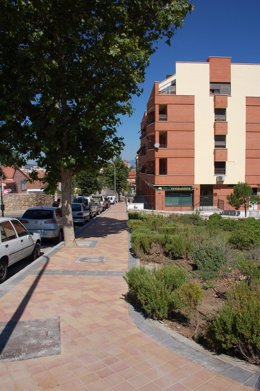 Reurbanización en Colmenar