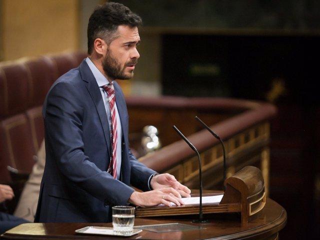 Felipe Juan Sicilia, diputado del PSOE