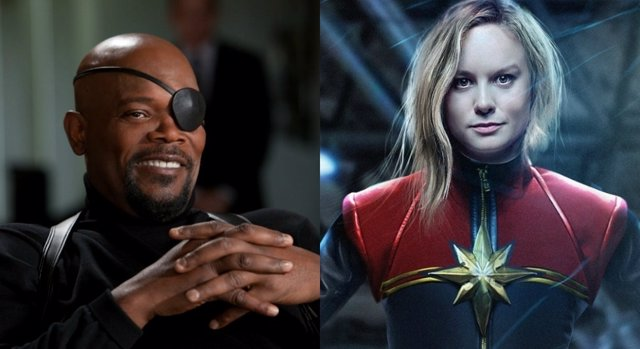 Samuel L. Jackson acompañará a Capitana Marvel en su debut