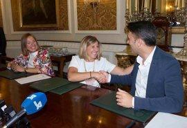 Diputación y Jóvenes Empresarios firman un acuerdo para contactar a emprendedores con las empresas