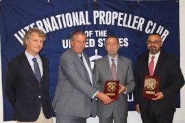 La Autoridad Portuaria de Sevilla firma su adhesión al 'Propeller Club'