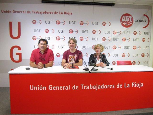 Domínguez, Gurrea y Romero de FSP-UGT