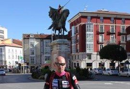 Un ciclista recorre 1.400 del Camino del Cid para recaudar fondos para tres niños con diferentes enfermedades
