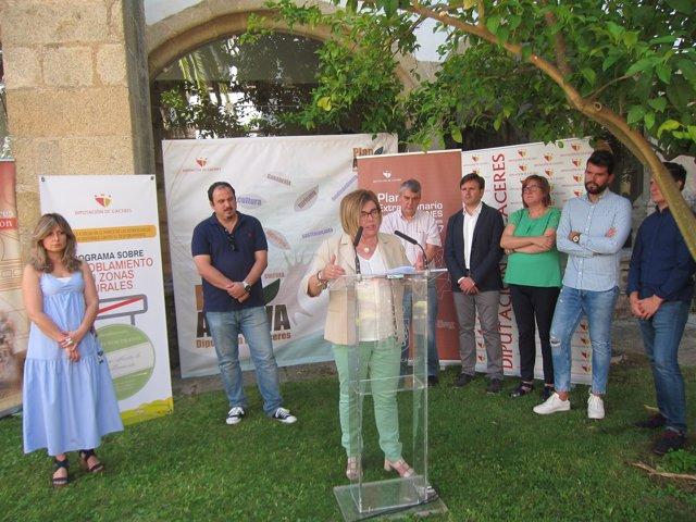 Balance de dos años de legislatura de Diputación de Cáceres