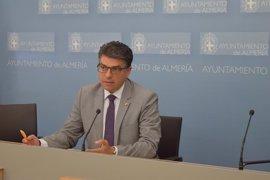 """Cs plantea """"revisar"""" el pacto que aupó al PP a la Alcaldía de Almería por """"falta de gestión"""""""