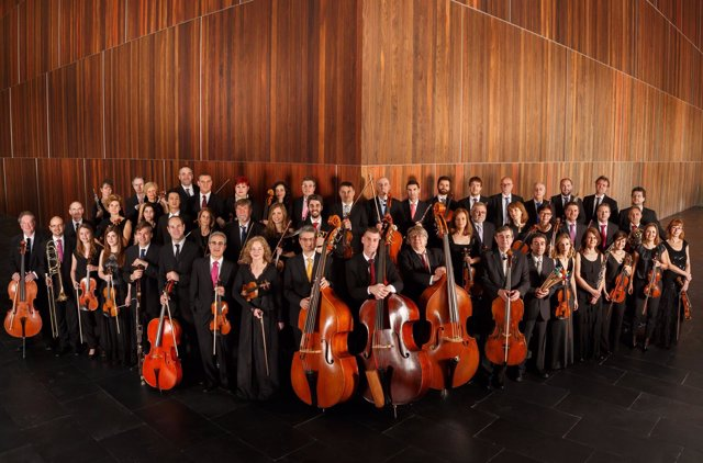La Orquesta Sinfónica de Navarra.