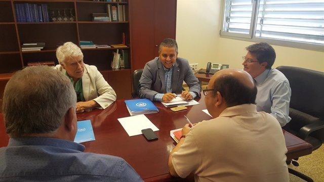 Reunión Pacto Regional del Agua PP