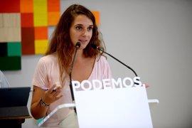 Podemos pide al PSOE que trabaje para que su socio canario no apoye el techo de gasto