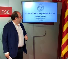 """Miquel Iceta lanza una web para explicar cuando es legal un referéndum: """"El 1-O no lo es"""""""