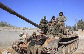 El Ejército sirio declara una tregua en el sur de Siria