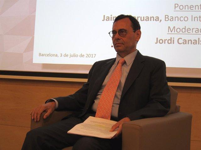 Jaime Caruana, dtor.Gral del Banco de Pagos Internacionales