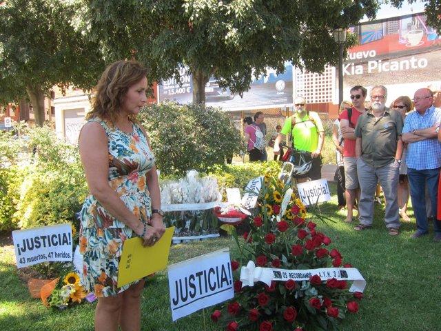 Homenaje de la AVM3J a las víctimas por el once aniversario del accidente