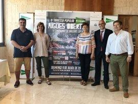 La playa de Palma acoge este domingo el V Campeonato de Baleares de Aguas Abiertas