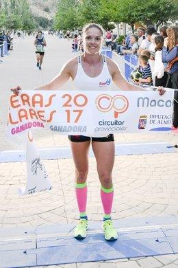 Paqui López Domene ha vuelto a ser la primera mujer en cruzar la meta.
