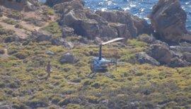 El Govern ya ha identificado la empresa del helicóptero del vídeo de S'Illot y avanza que tomará medidas