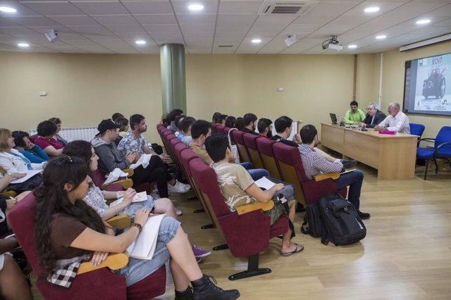 Curso de robótica en Camargo