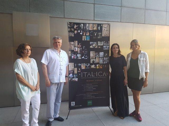 Presentación del Ballet Nacional de Letonia en el Festival de Danz