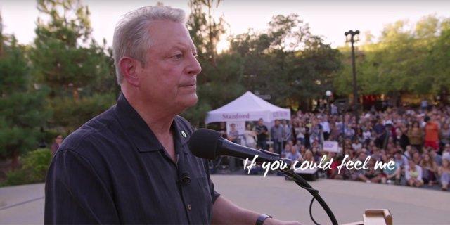 Al Gore en Una verdad muy incómoda: Ahora o nunca