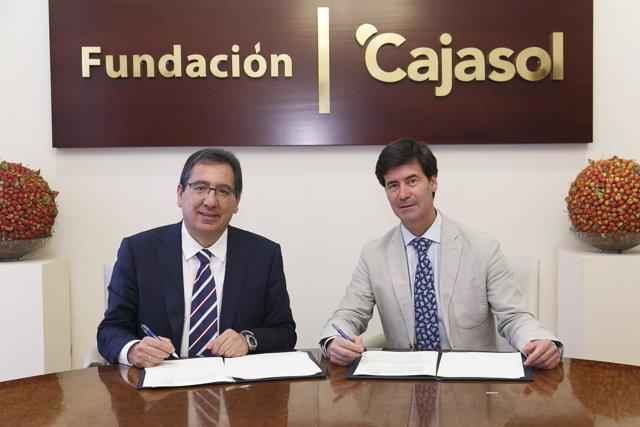 La Fundación cajasol y la CES en la renovación de su compromiso empresarial