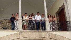Noguera visita el Casal Solleric en su primer día como alcalde
