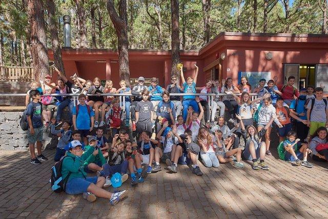 Visita Campamento Bilingue