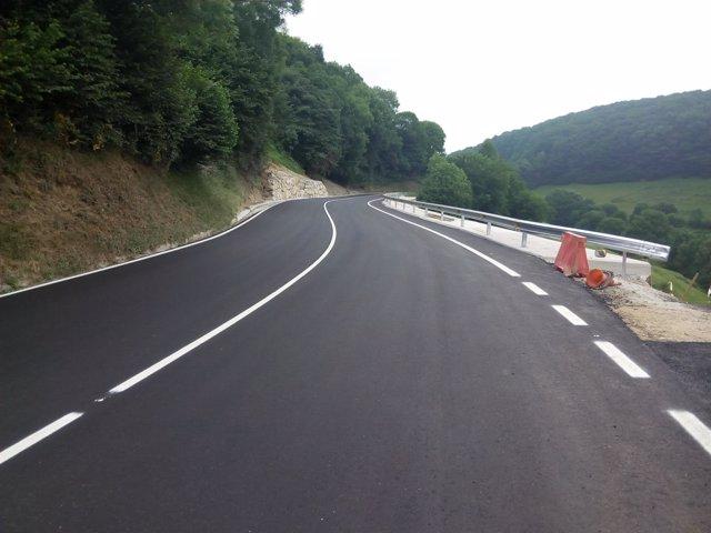 Imagen carretera renovada