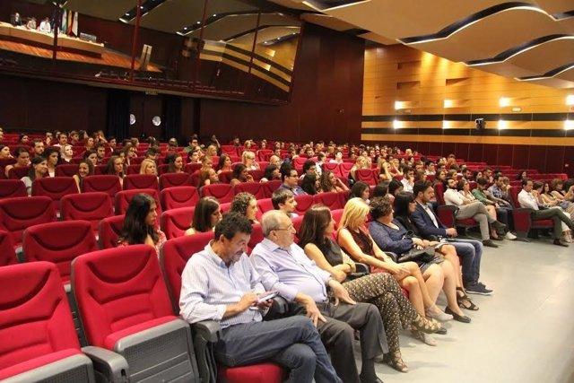 Acto de bienvenida en la Universidad de Córdoba