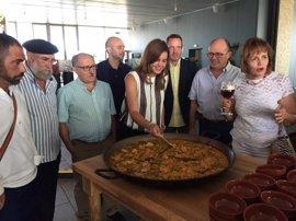 """Once restaurantes de València ofrecen un menú de """"auténtica paella"""", el plato """"más icónico"""", a 20 € en el Paella Fòrum"""