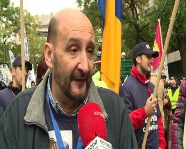 José Manuel Sánchez Fornet, exsecretario general del SUP