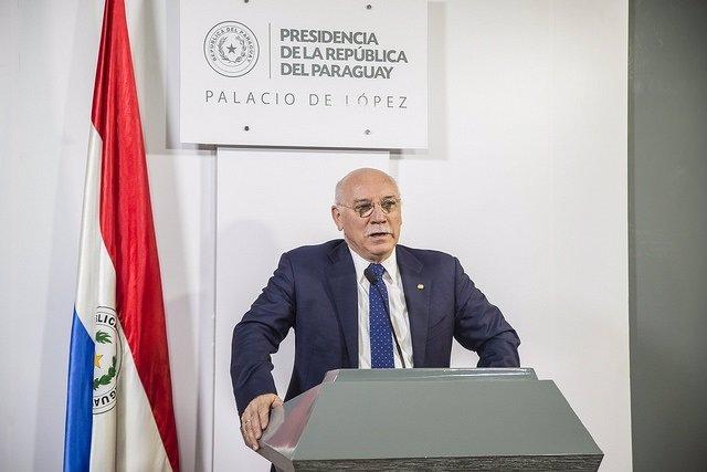 El ministro de Exteriores de Paraguay, Eladio Loizaga