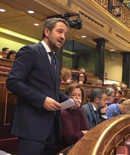 Jaime de Olano, diputado del PP