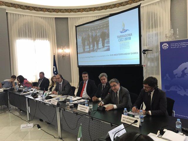 Reunión de E. Millo con altos funcionarios de la Unión por el Mediterráneo